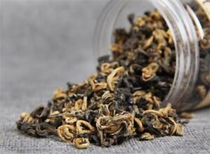 60g Premium Dianhong Black Tea Canned Gongfu Red Tea Green Food Yunnan Dian Hong