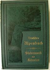 Deutsches Alpenbuch Kärnten, Steiermark, Osttirol, Salzburg, Österreich, Reise