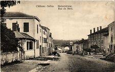CPA  Chateau-Salins - Rue de Metz - Metzerstrasse  (387760)