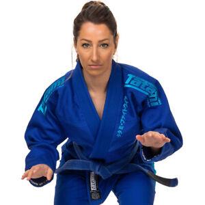 Tatami Fightwear Women's Estilo Black Label BJJ Gi - Blue/Blue