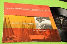 BUDDY BREGMAN LP GERSHWIN ANNIVERSARY ALBUM ORIG ITALY '60 TOP JAZZ
