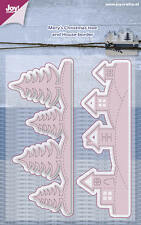 Joy Crafts Troquelado & embos Stencil muy's casas árboles sin fin 6002/0587