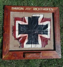 More details for replica  souviner ww1 fokker dr1 aircraft fabric of richthofen
