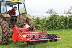 WSB145 - Winton Heavy Duty Stone Burier - 1.45m Wide - For Compact Tractors