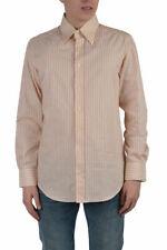 "Dolce & Gabbana ""Slim Fit"" Men's Multi-Color Striped Dress Shirts US 16 IT 41"