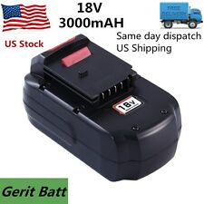 3.0Ah Replace for Porter Cable 18V Battery NiMh PC18B PCC489N PCMVC PCXMVC Tools
