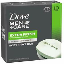 Dove Men Care Body Face Bar Clean Hydrate 4 Ounce 10 Pack Gift Him New