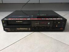 Sony sl-200me MKIII Super Betamax PAL/SECAM Incl. FB-légère obturateur