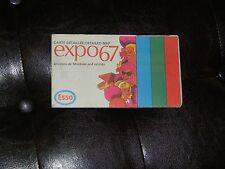 Vintage 1967 montreal Expo 67 Expo67 Guide Event Map