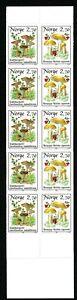 Norway 1987 Booklet Mushrooms 2.70 kr MNH