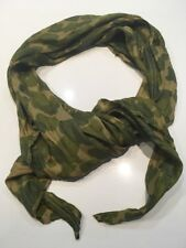 """WWII Pattern U.S. ARMY PARACHUTE CAMO TYPE SCARF FOR PARATROOPERS D-DAY 73""""x19"""""""