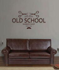 ik1793 Wall Decal Sticker barber salon styling haircut barbershop