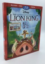 Lion King 1½, The (Blu-ray+DVD+Digital, 2017; 2-Disc Set) NEW w/ Slipcover