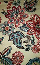 "2 Yards x 54"" Waverly Charismatic Home Decorator Drapery Upholstery Fabric"