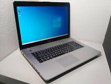 ASUS N76VZ-V2G-T1011 (17,3 Zoll Full HD) i7-3610QM, Windows 10 Notebook 2TB 650M