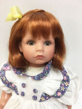 """New Susan Wakeen BASKET OF LOVE 20"""" Red Head Toddler Baby doll"""