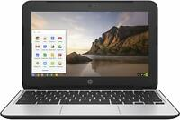 "HP Chromebook 11 G4 EE 11.6"" Celeron 2.16GHz 4GB RAM 16GB SSD ""Spots on Screen"""