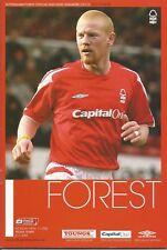 Nottingham Forest v Yeovil Town - Div 1 - 17/4/2006 - Football Programme