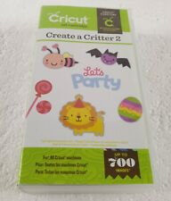 Cricut Create a Critter 2 Cartridge 700 Images