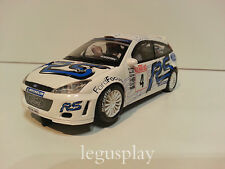 Slot SCX Scalextric Altaya Ford Focus WRC #4 Rallye Monte Carlo 2003 Matin/Park