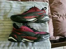 Puma Thunder Spectra 367516 03 Burgundy Black US 9.5 Sneakers Shoes