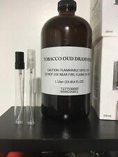 TOM FORD Tobacco Oud Eau de Parfum Atomizer 10ml Decant Travel Bottles .34 Oz