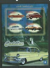 ANTIGUA SGMS3767 2003 CENT OF GENERAL MOT0RS CADILLAC  MNH