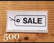500 SALE Business Promotional label Sticker Sell Packaging Shipping Mail Supply