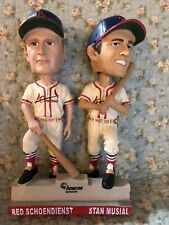 NIB Stan Musial/Red Schoendienst Double Bobblehead St. Louis Cardinals 2019 SGA
