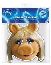 The Muppets Party-Miss Piggy Mascarilla