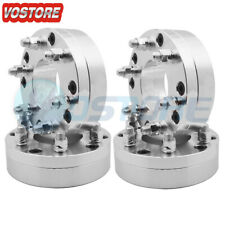 """(4) 2 inch 5x5.5"""" to 6x5.5"""" Conversion Wheel Spacers Adapter 14x1.5 Thread Pitch"""