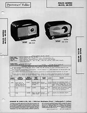 1948 PHILCO 48-225 -230 RADIO SERVICE MANUAL PHOTOFACT SCHEMATIC DIAGRAM REPAIR