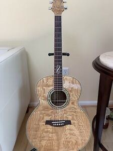 Ibanez Quilted Ash Acoustic Guitar
