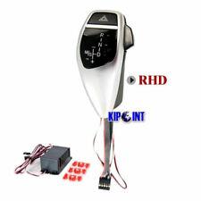 For BMW LED Gear Shift Knob PRO E60/E61 w/ Auto Reverse Hazard RHD - Silver