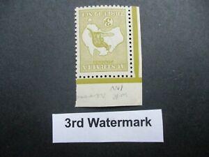 Kangaroo Stamps: 3rd Watermark Inverted Watermark Mint  - Great Item (n13)