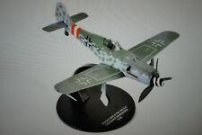 Set von 2 Flugzeuge Focke Wulf+Curtiss P-40N WW2 1:72 DeAgostini Militär LAC43