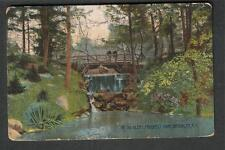 1910 In The Glens Prospect Park Brooklyn W Sands to William C Young Milwaukee WI