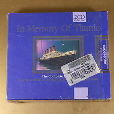 [AN-045] CD - IN MEMORY OF TITANIC - 2CD - 2000 BIEM/STEMRA - OTTIMO