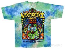 Woodstock - Woodstock Music Festival Apparel T-Shirt M - Tie Dye