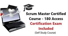 Scrum Master Certified - eLearning and Exam Voucher Only $250