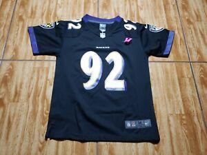 Nike Haloti Ngata Baltimore Ravens Football Jersey Youth Medium Kid Black