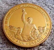 3D Hologram England 1966 World Cup Winners Gold Coin Moving Image Goal Raster GB
