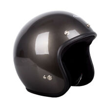 RXT Challenger Open Face Helmet A611C Gloss Gunmetal Low Ride with Studs