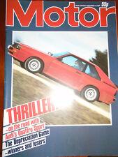 Motor 10/11/84 Volvo 740 GL