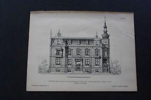 1888 Stich 78 / feuerversicherungsbank Gotha
