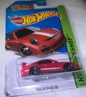 Hot Wheels HW Workshop Porsche 911 GT3 RS Red Diecast Model Car 1:64