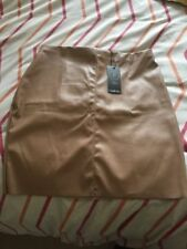 Faux Leather Short/Mini Skirts Size Petite for Women