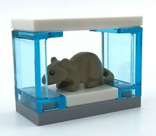 New listing Lego Tiny Mouse Cage Creation Fun Little Animal Pet Display For Moc