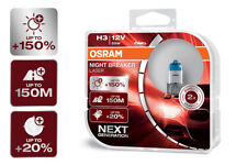 OSRAM Night Breaker® LASER NEXT GENERATION H3 Sockel +150% mehr Sicht DuoBox