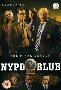 NYPD Blue - Series 12 - Complete DVD 5-Disc Set